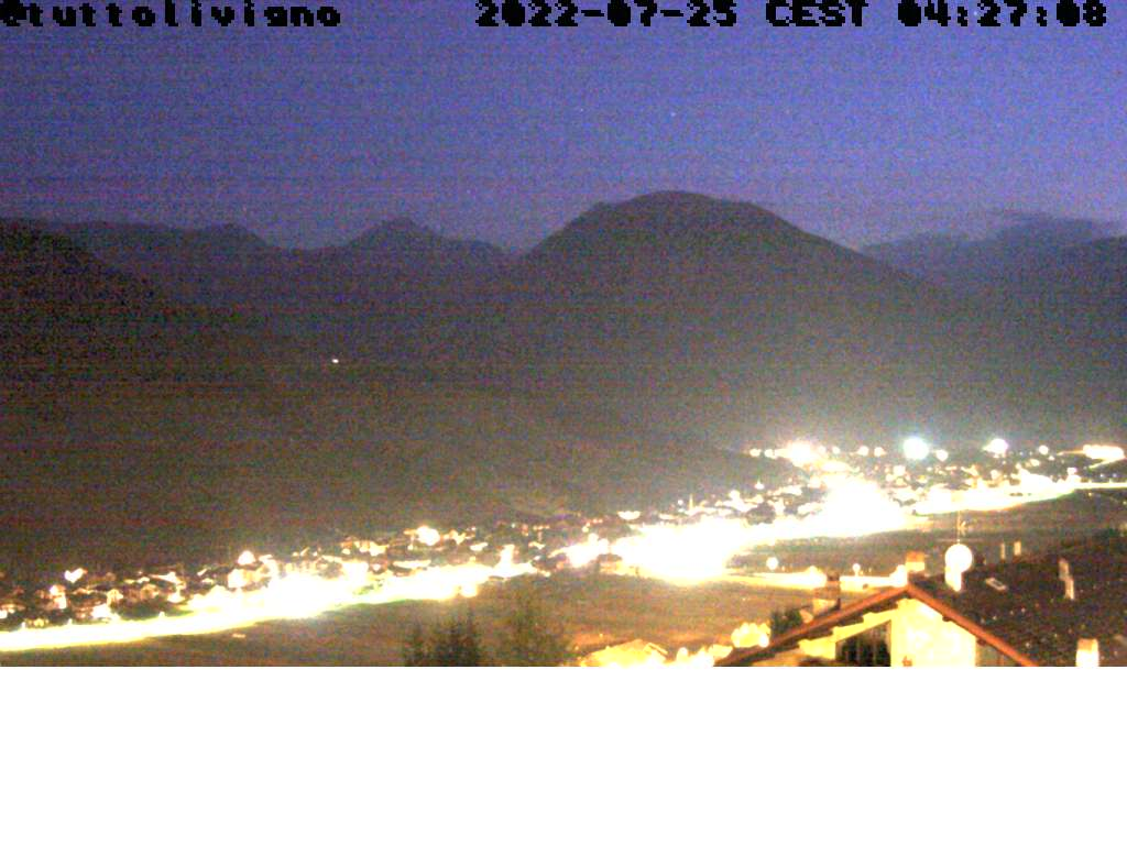 Livigno - View onto Livigno